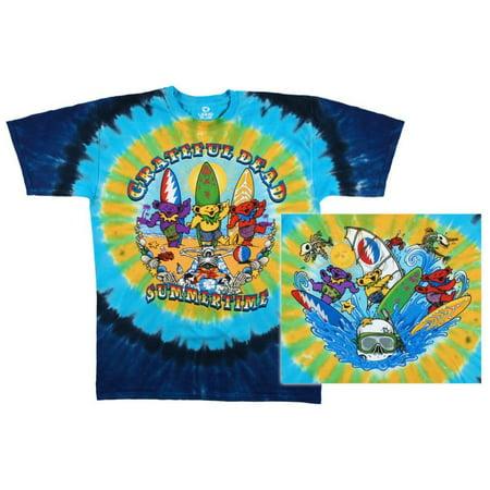 Grateful Dead - Beach Bear Bingo Apparel T-Shirt - Tie Dye ()
