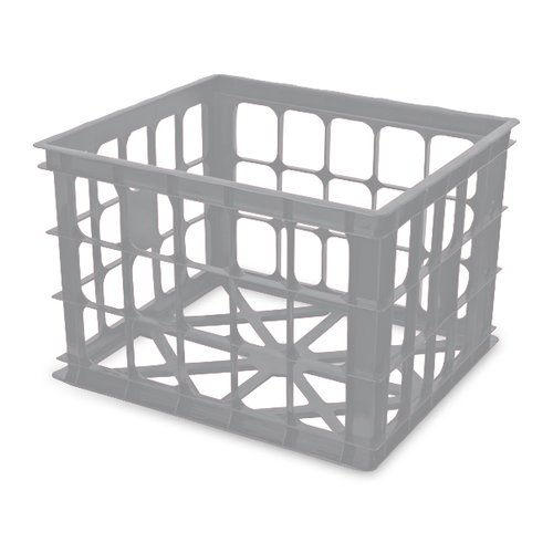 plastic milk crate