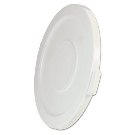 Gallon Brute Round Container Lid - Rubbermaid Commercial Round Flat Top Lid, for 32-Gallon Round Brute Containers, 22 1/4