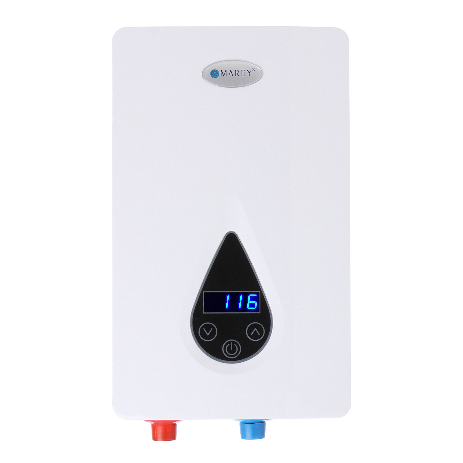 marey 240v electric digital on demand tankless water heater mareyeco110