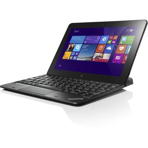 Lenovo ThinkPad 10 Ultrabook Keyboard-US English - Cable Connectivity - Proprietary Interface Interface - English (US) -