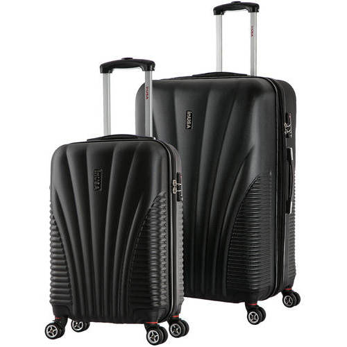 "InUSA Chicago Collection Lightweight Hardside Spinner 2-Piece Set, 21"",29"""