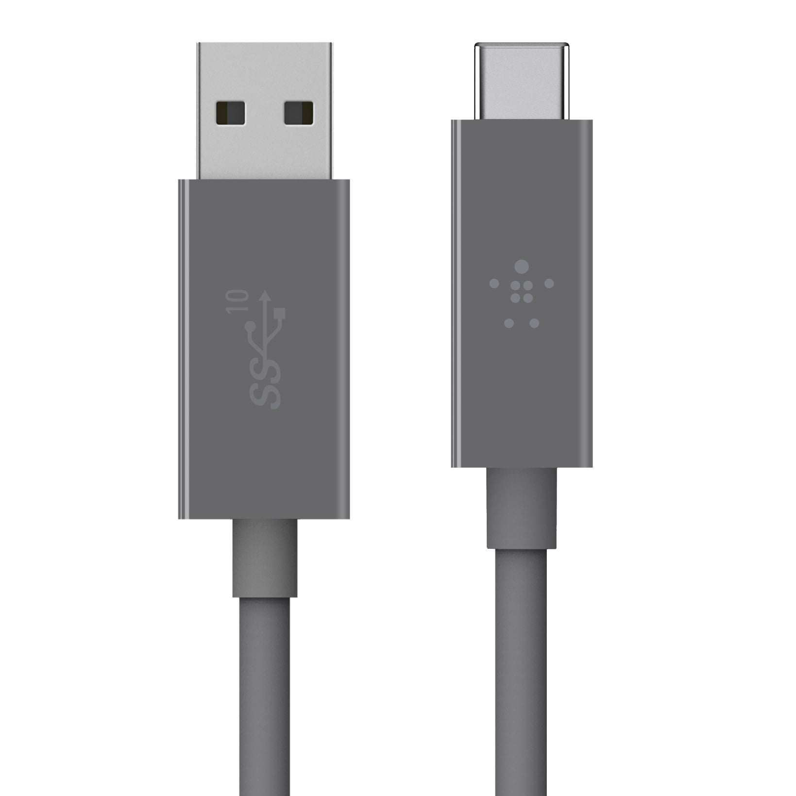 Belkin 3.1 USB-C to USB-A Cable, 1M, Gray