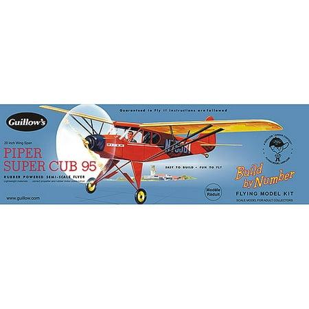 Guillow's Piper Super Cub 95 Model Kit