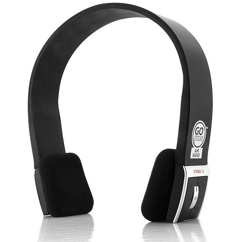 GOgroove AirBAND Bluetooth Stereo Headphones for Wireless Music Streaming and Hands-Free Calling for Smartphones, Tablets, Laptops, Desktops and More