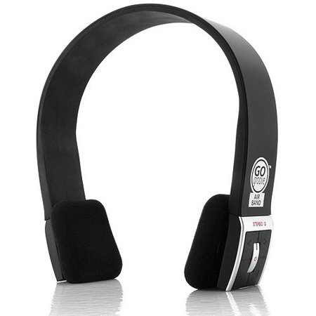 GOgroove AirBAND Bluetooth Stereo Headphones for Wireless Music Streaming  and Hands-Free Calling for Smartphones 6cb668595