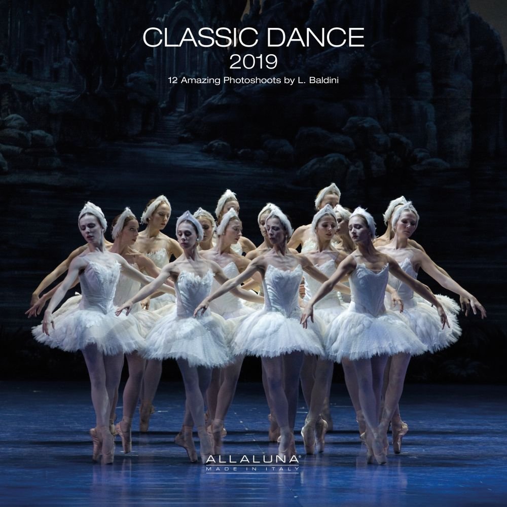 2019 Dance Classic Wall Calendar, Dance | Theatre by Alla Luna