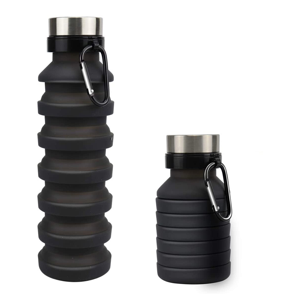 Flexible Foldable Bottles Collapsible Hiking Fashion Water N Reusable Hot B  NEW
