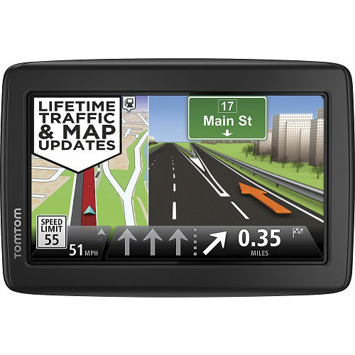 TomTom VIA 1515TM 5-inch Automotive GPS w  Lifetime Traffic & Map Updates by TomTom