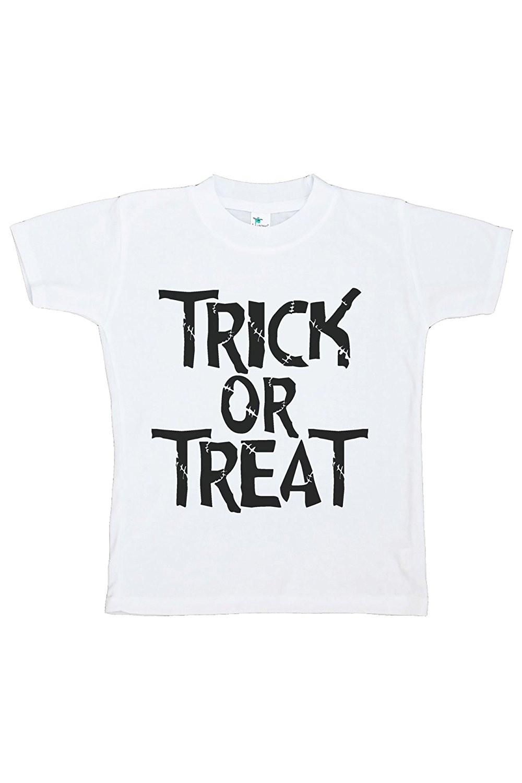 Custom Party Shop Kids Trick or Treat Halloween Tshirt - Small Tshirt