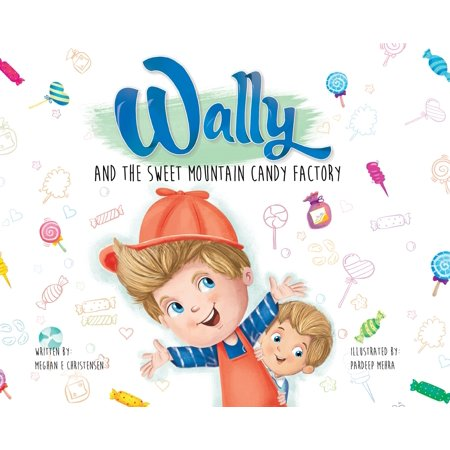 Wally and the Sweet Mountain Candy Factory (Hardcover) Say Hi to Wally. He is a candy maker and today--YOU ARE TOO! Put on your candy making hat and find a conveyor belt; there is work to be done! Stretch, roll, and sprinkle!Wally dreams of becoming a candy maker--just like his dad, his dad's dad, and his dad's dad's dad. It's his first day of work and all is awesome, until EVERYTHING GOES OUT OF CONTROL! Who is causing the candy making chaos, and what will Wally do when he learns the identity of the unlikely culprit?Together pick and choose from a side column of suggested questions to ask or actions to do, to create a personal story and enrich the reading experience together.*BONUS beyond the book activities in the back, including  Wally's Wacky Taffy  personalized by popular food blogger, THE GIRL WHO ATE EVERYTHING,  and your own family tree to create and spark meaningful family conversations!For Ages 3-8. . .This story was created during the rigmarole of bedtime as a way to get our young children's  wiggles  out. In our home, this story is told with LOTS OF ACTIONS. The children take turns lying on their stomach, pretending their back is the candy factory conveyor belt. The other family members pretend to mix, stretch, roll, sprinkle and hammer the candy!I hope this story brings as much conversation, excitement, movement, and laughter to your home as it has to ours. xoIf you love,  Pete's a Pizza  and  What Should Danny Do?  then you will love this book!