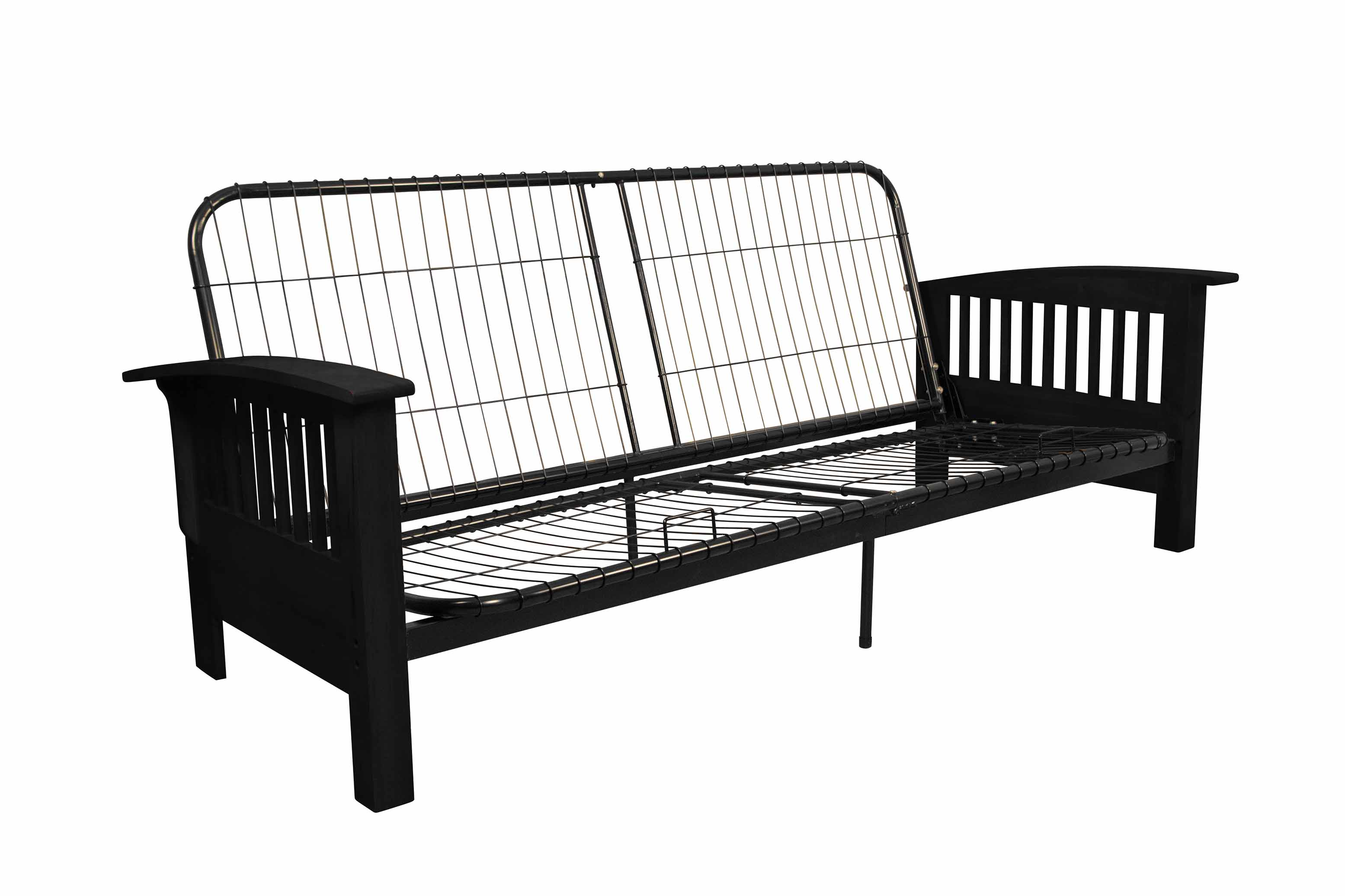 Morris Mission Style Futon Sofa Sleeper Bed Frame Full
