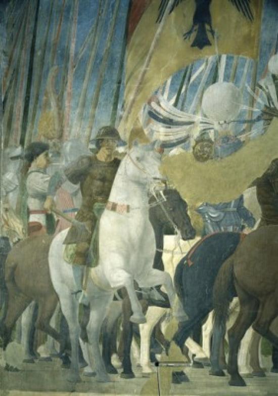 Battle of Constantine & Maxentius ca 1458 Piero della ...