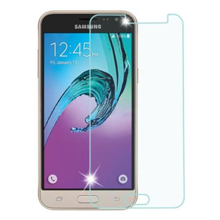 Insten Clear Tempered Glass LCD Screen Protector Film Cover For Samsung Galaxy Amp Prime / J3