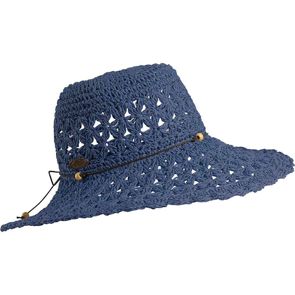 Turtle Fur Women's Vermont Collection Chara Crocheted Straw Sun Hat with Beaded Band by Turtle Fur