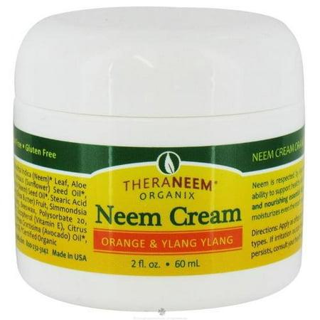 Organix South  - Neem Cream, Orange Ylang (Jar) 2oz