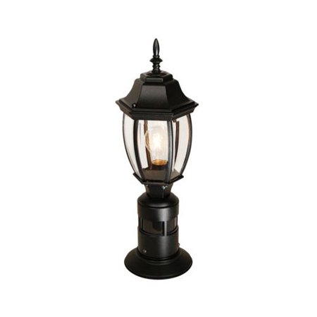 Heath Zenith Hz 4392 1 Light 360 Degree Motion Activated Outdoor Post