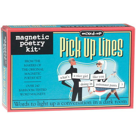 Magnetic Poetry Kit (Magnetic Poetry Kit, Mixed Up Pick Up Lines)