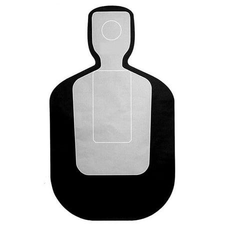 "100 Pcs of Pasadena (TX) PD Modified TQ-19 Qualification Target Black Size: 23"" x 35"""