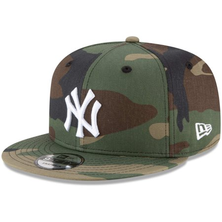 New York Yankees New Era Basic 9FIFTY Snapback Hat - Camo - OSFA