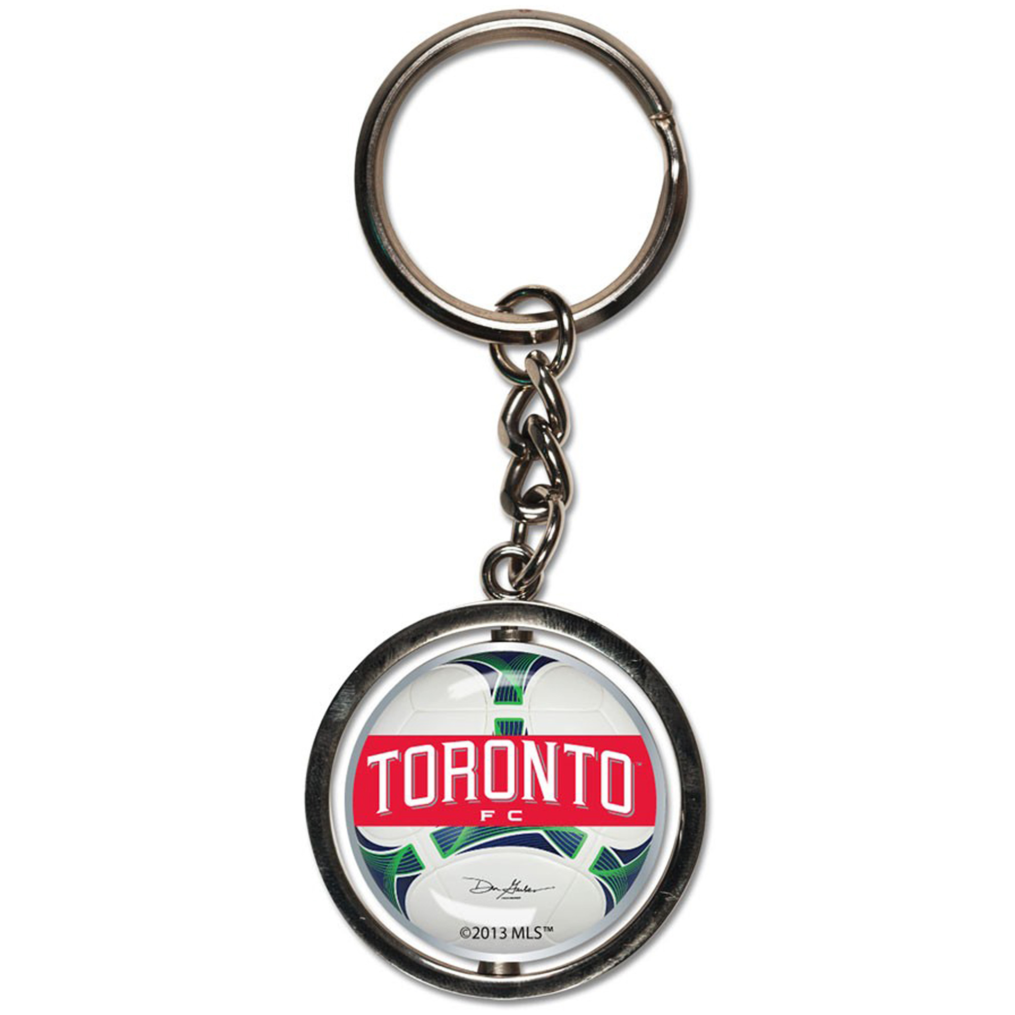 Toronto FC WinCraft Spinner Key Ring - No Size
