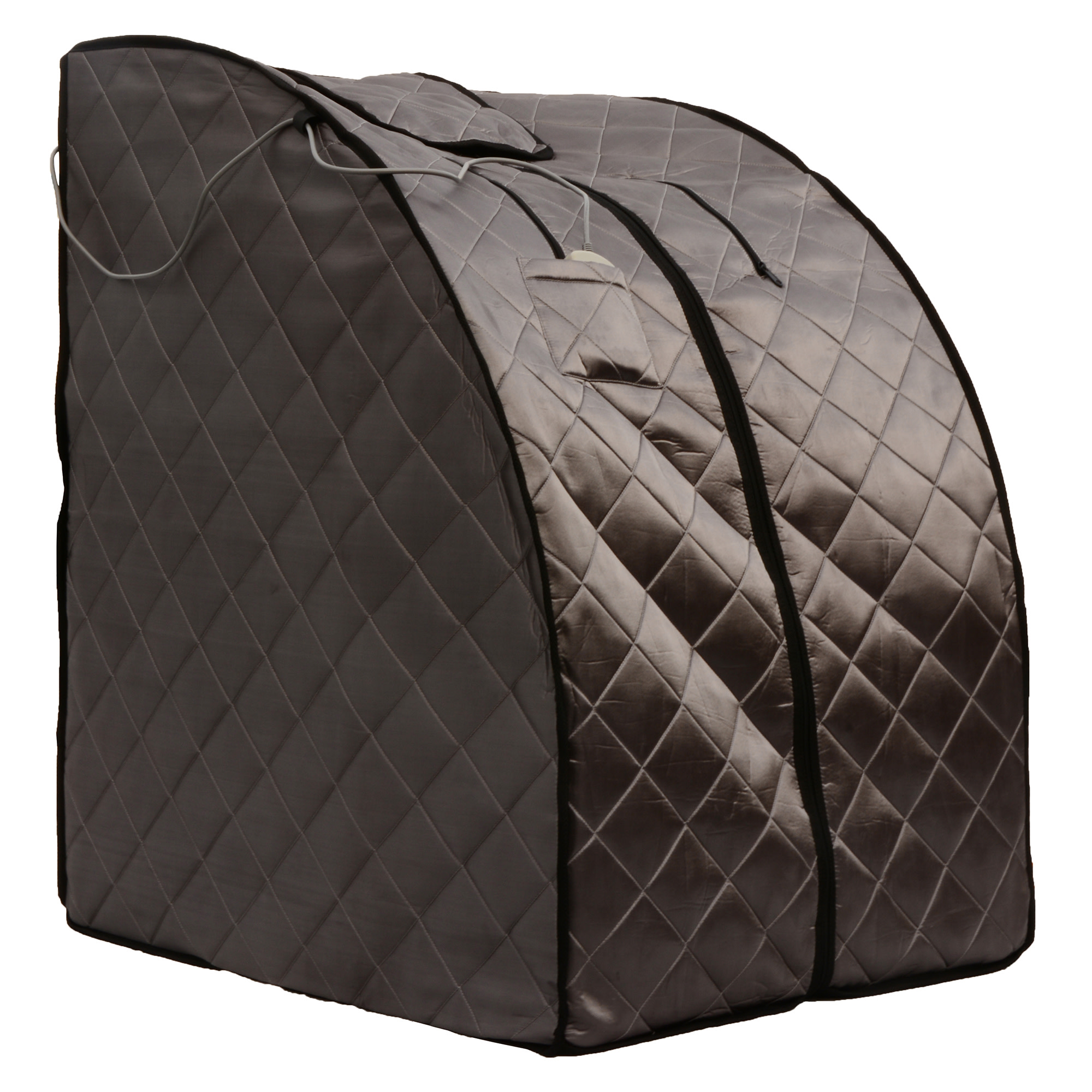 Radiant Saunas Radiant Saunas Rejuvinator Portable Personal Sauna with FAR Infrared Carbon Panels, Heated Floor Pad, Canvas Chair