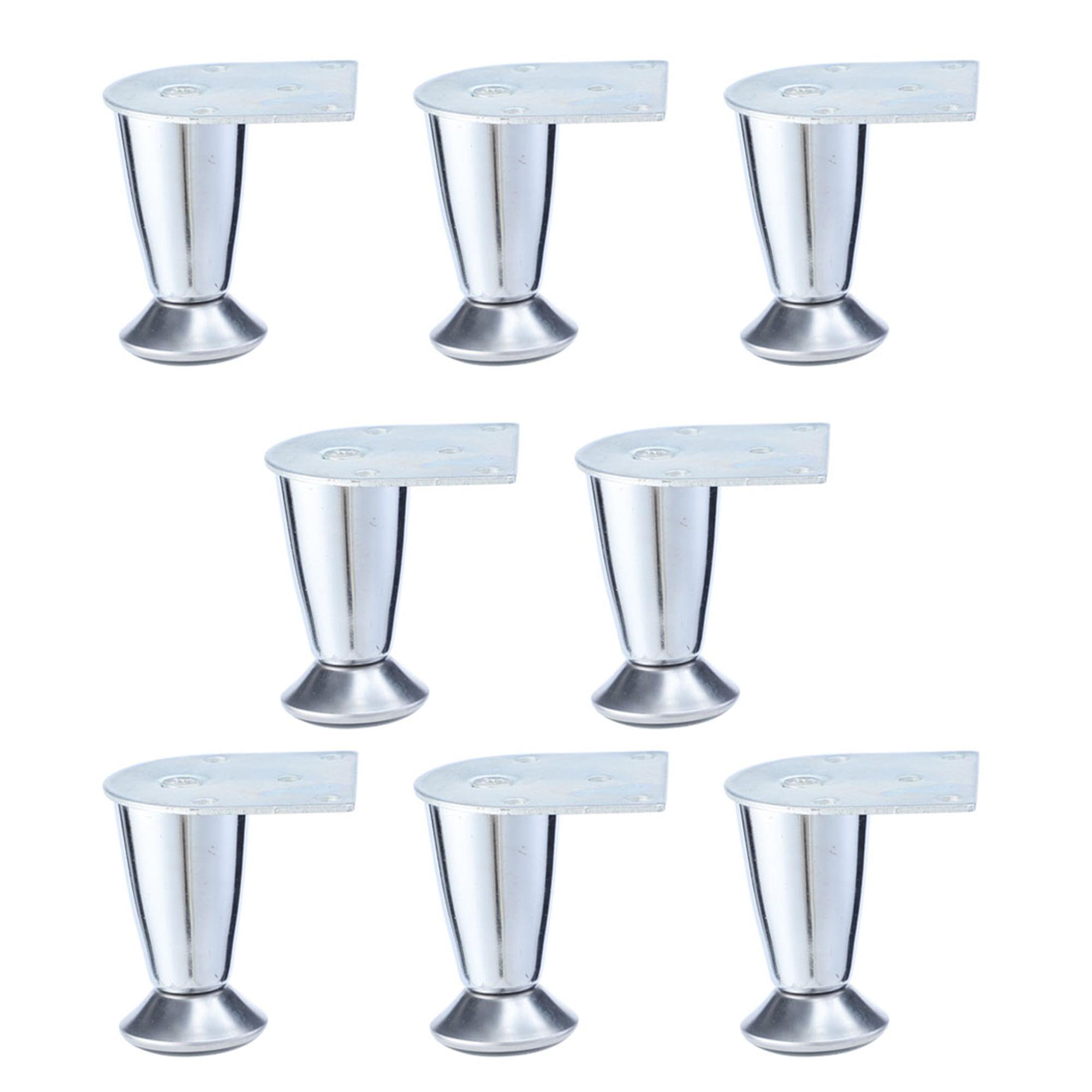 "7/"" Metal Furniture Feet Sofa Legs Chair Cabinet Ottoman Wardrobe 4pcs Set"