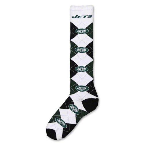 NFL - New York Jets Women's Knee High Argyle Socks