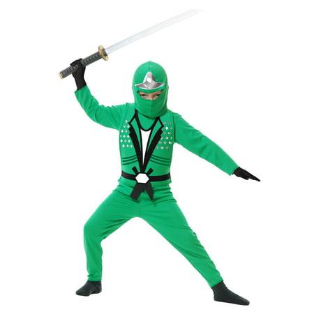 Child Ninja Avengers Series II Green Costume (Green Ninja Costume)