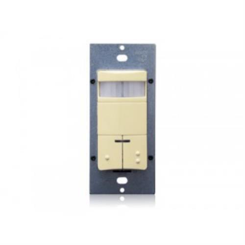 Leviton ODS0D-TNI Motion Sensor, Decora Dual Circuit Wall...