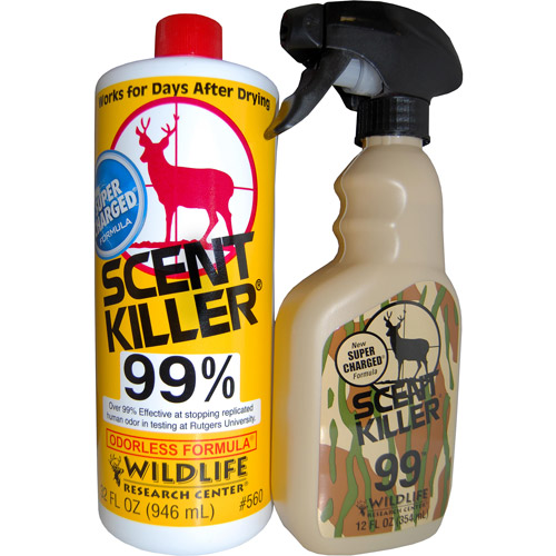 Wildlife Research Center Scent Killer Spray, Quart Combo