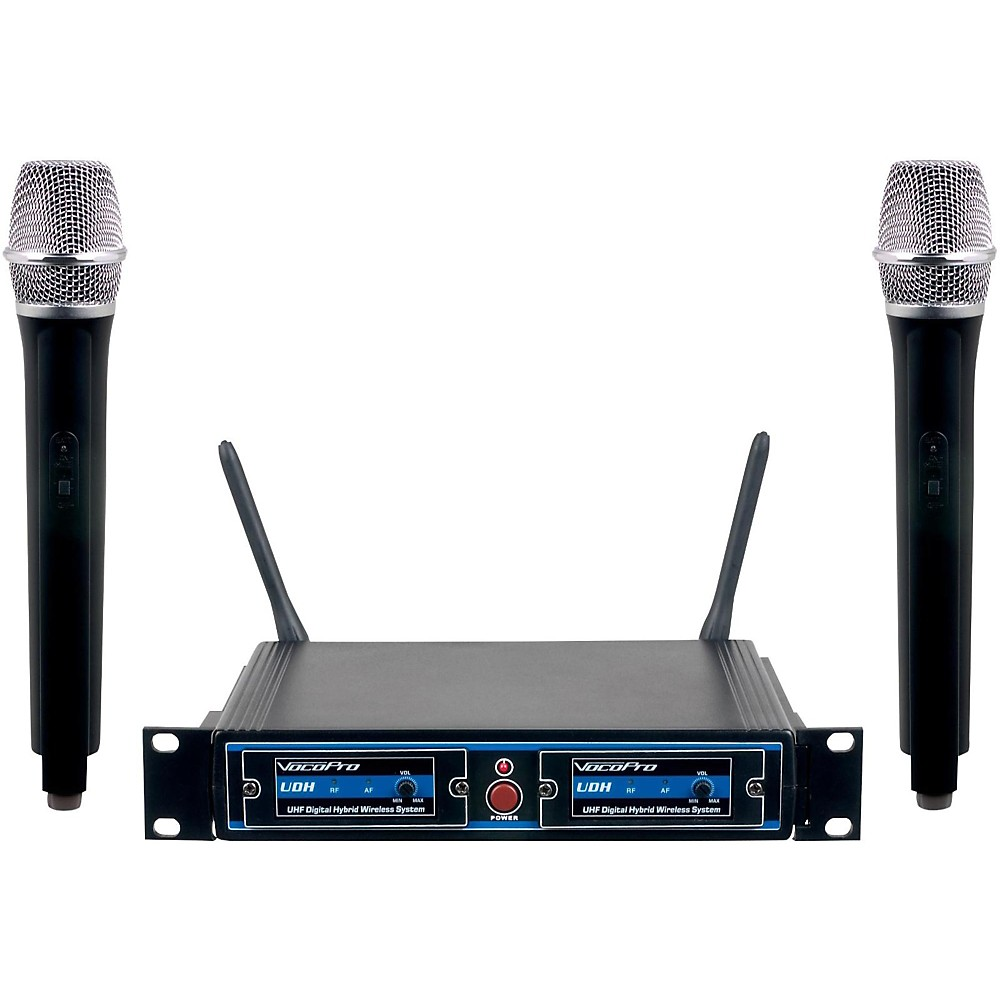 VocoPro UDH-DUAL-H Hybrid Wireless System Band H2 by VocoPro