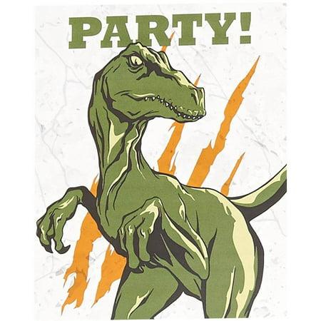 Dinosaurs Invitations