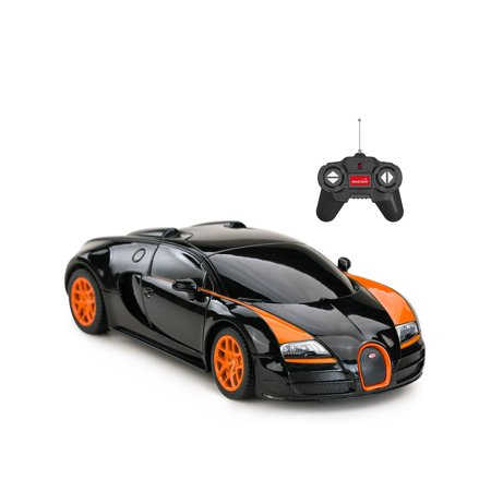 RC Remote Control 1:24 Bugatti Veyron 16.4 Grand Sport Vitesse Racing Toy Car Model Vehicle ( Colors May Vary