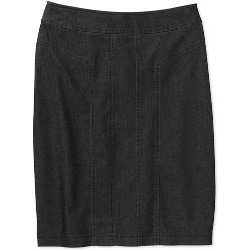 Bella Bird Women's Denim Pencil Skirt