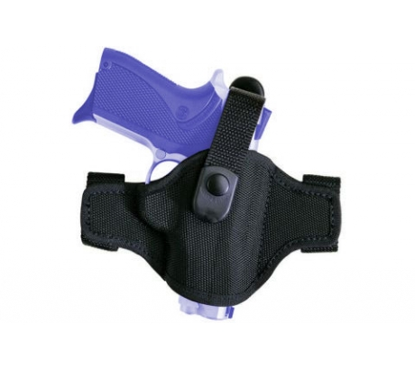 Bianchi 7506 AccuMold Belt Slide Holster, Black, Right Hand For Glock 20 21 - by Bianchi