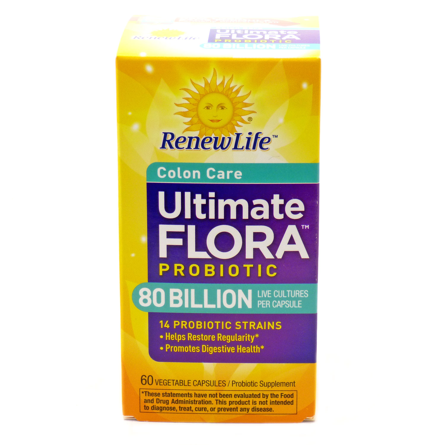 Renew Life Ultimate Flora Critical Colon BifidoMAX 80 Billion by RenewLife - 60 Caps