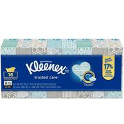 Kleenex 2-Ply Facial Tissue, 100 Tissues per Box, 16 Boxes
