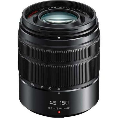 Lens Block - Panasonic 45-150mm f/4.0-5.6 LUMIX G Vario ASPH Lens - Matte Black
