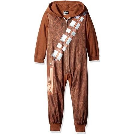 Star Wars Chewbacca Youth One Piece Pajama](Chewbacca Onsie)