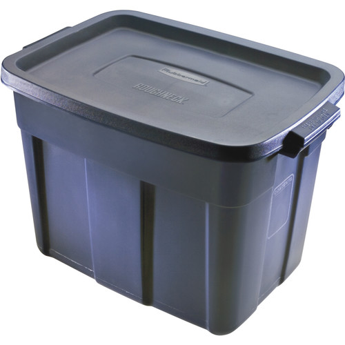 Rubbermaid Roughneck Sturdy Storage Box (Set of 12)