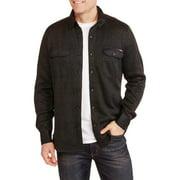 Men's Button Front Sweater Fleece