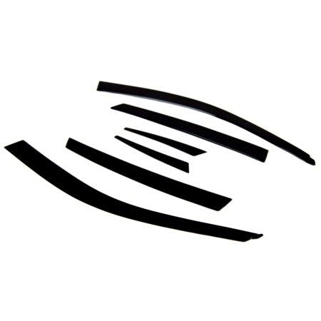 TuningPros LP-852 Low Profile Window Visor For 2008-2011