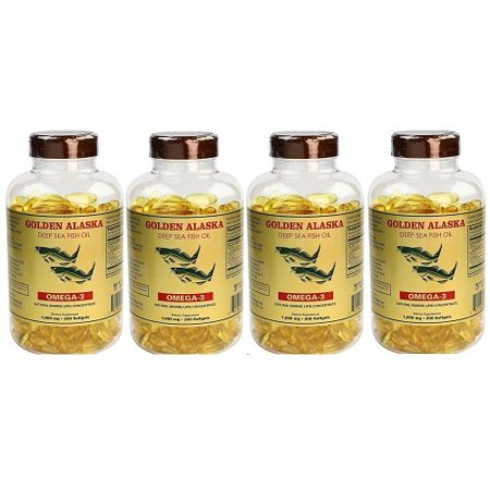 Nu Health Alaska Deep Sea Omega-3 Fish Oil 1000 Mg EPA & DHA (200 Softgels) - 4 (Udos Oil Dha 3 6 9 Blend Reviews)