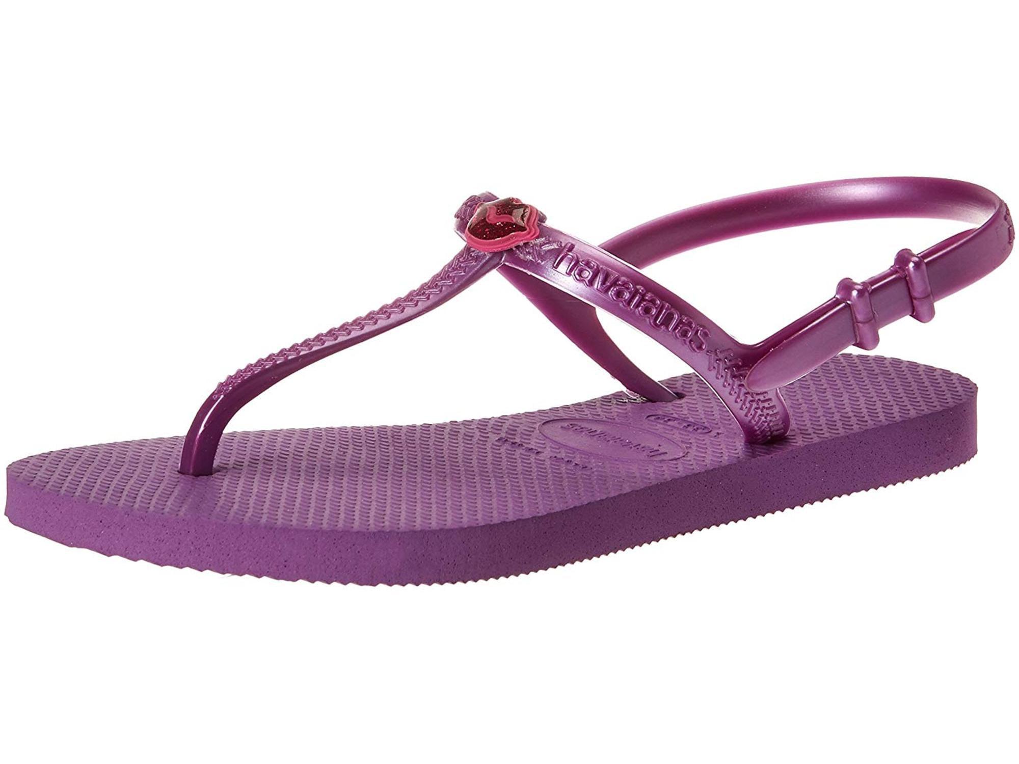 1429594b04c6 Kids Havaianas Girls Freedom Bungee Ankle Strap Flip