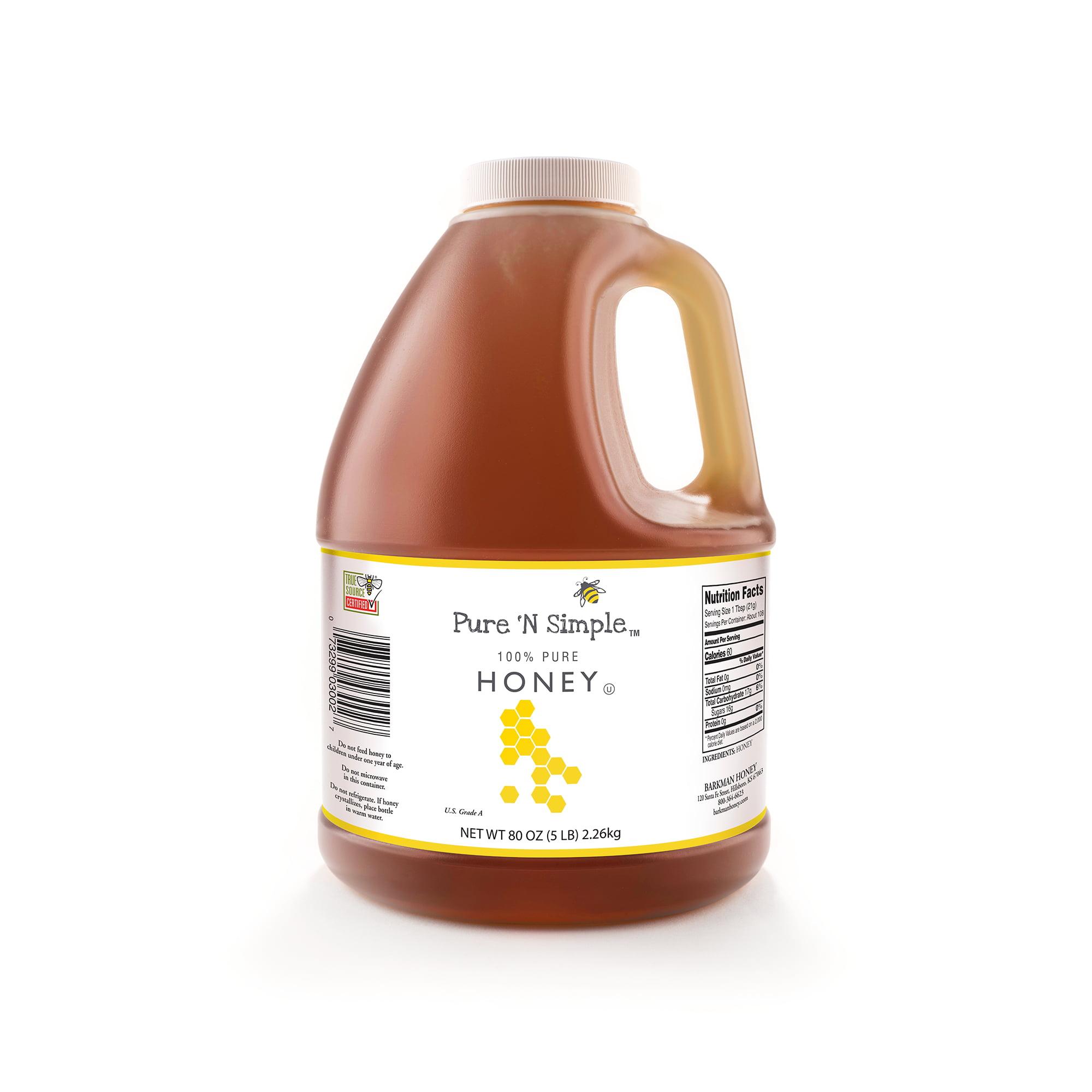 Pure 'N Simple Honey, 80 oz