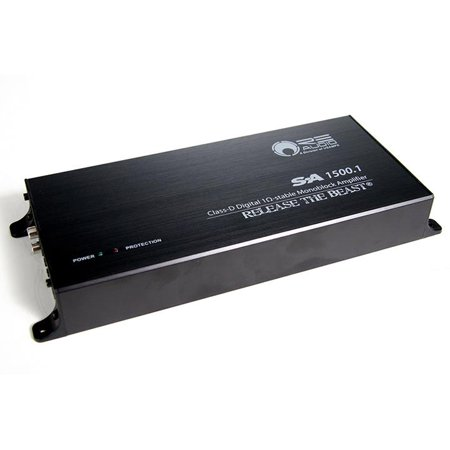 REAUDIO Re Audio Sa Series Mono Class D 1800w Max - Mono Audio Card