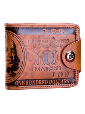 b8eb038cc69 Product Image Mens Wallet, Coofit US Dollar Bill Bifold Wallet with  Magnetic Buckle for Men Boys