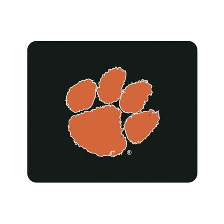 Team Logo Computer Mouse Pad (Clemson University Black Mouse Pad, Classic)