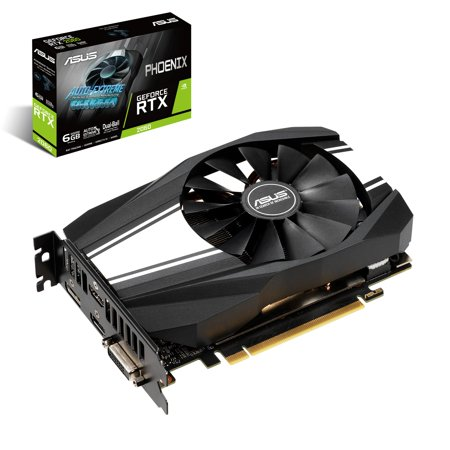 Asus Phoenix GeForce RTX 2060 Graphic Card - plus free Wolfenstein: Youngblood Game Code